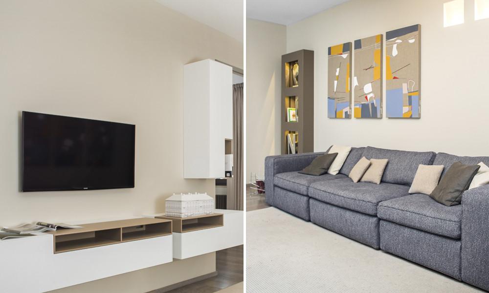 Ristrutturazioni case moderne for Case colorate interni